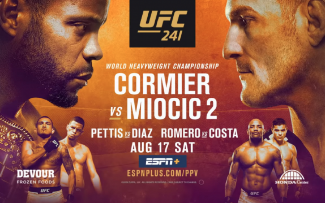 UFC 241 MMA DFS Preview