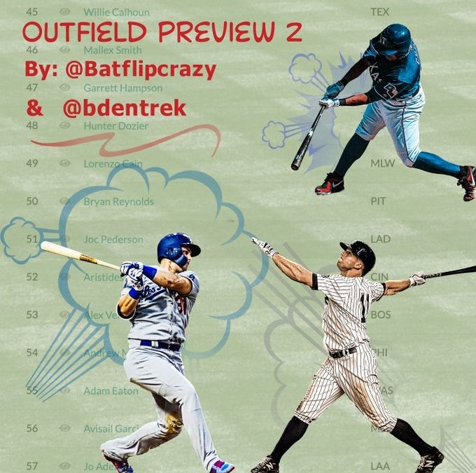 Benched with Bubba EP 247 – Bubba & Bat Flip 25 Outfield Preview PT2