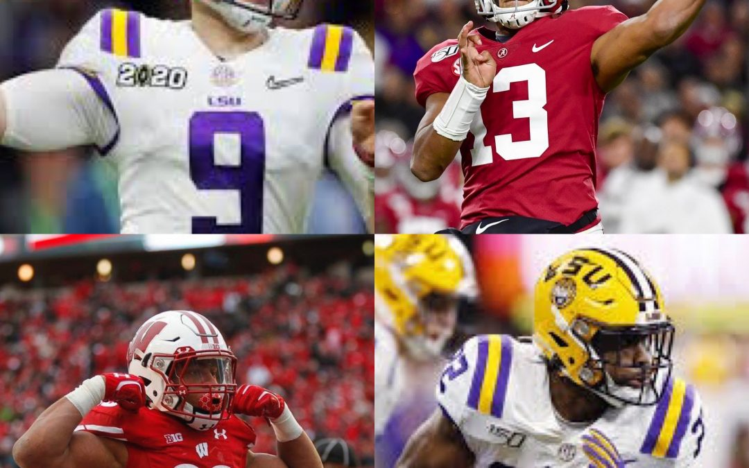 Benched with Bubba EP 275 - John Laub NFL Draft QB & RB Preview