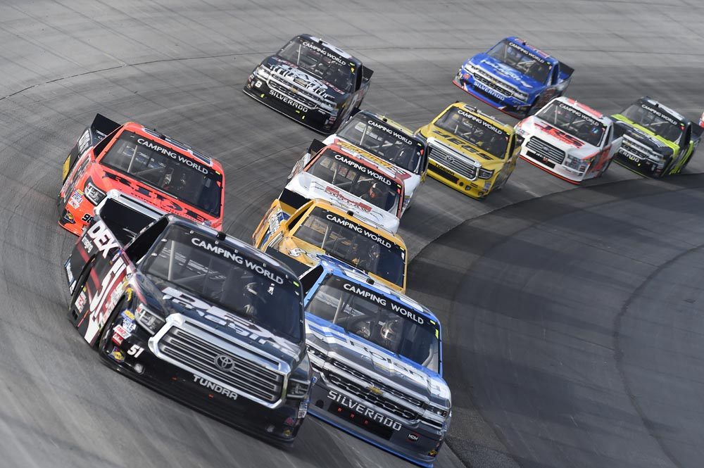 KDI Office Technology 200 NASCAR Truck Series DFS Preview